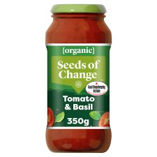 Seeds Of Change Tomato And Basil Pasta Sauce 350G