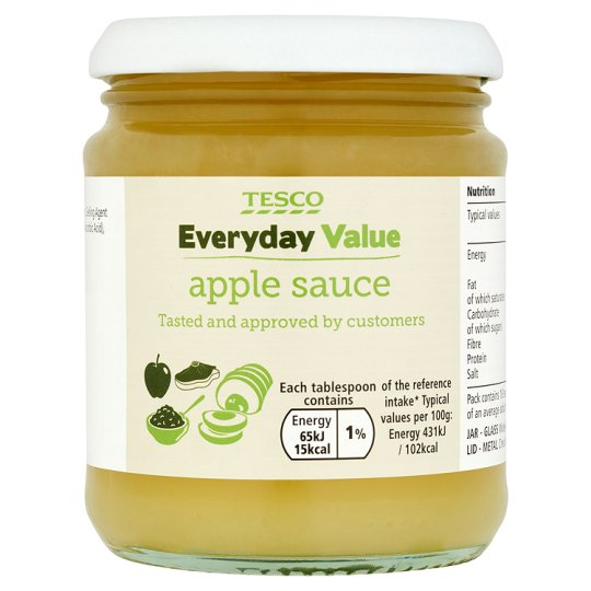 Tesco Everyday Value Apple Sauce 280G