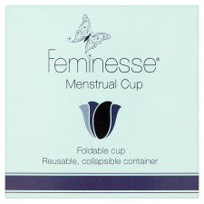 Feminesse Foldable Menstrual Cup
