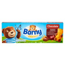 Barny Chocolate Kids Sponge Bear 5 Pack 150G