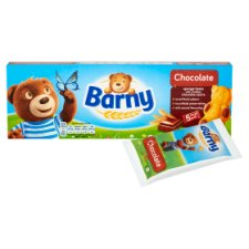 image 2 of Barny Chocolate Kids Sponge Bear 5 Pack 150G