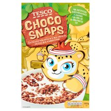 Tesco Choco Snaps Cereal 600G