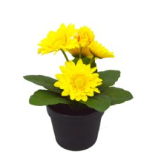 Artificial Yellow Gerbera