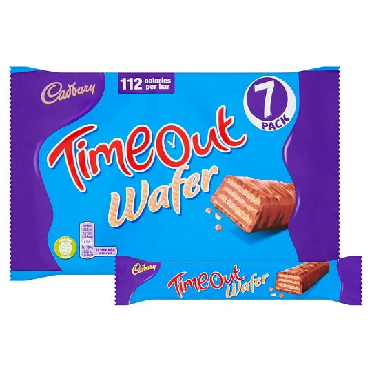 Cadbury Timeout Wafer Biscuit 7 Pack