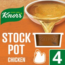 Knorr Chicken Stock Pot 4 X 28G