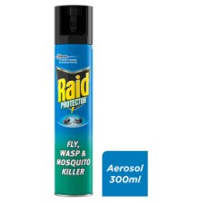 Raid Fly, Wasp And Mosquito Killer 300Ml