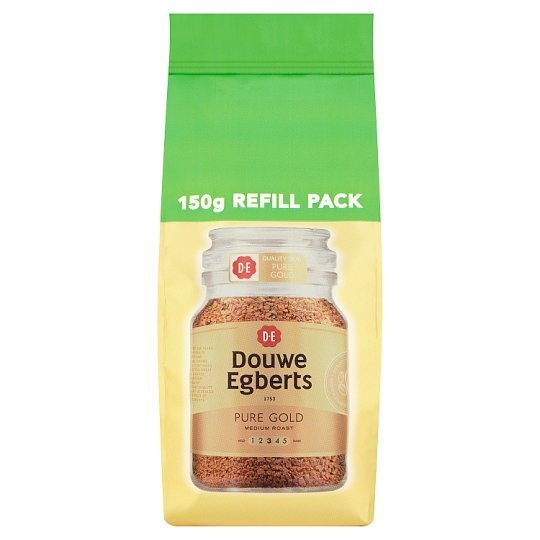 Douwe Egberts Pure Gold Instant Coffee Refill 150G