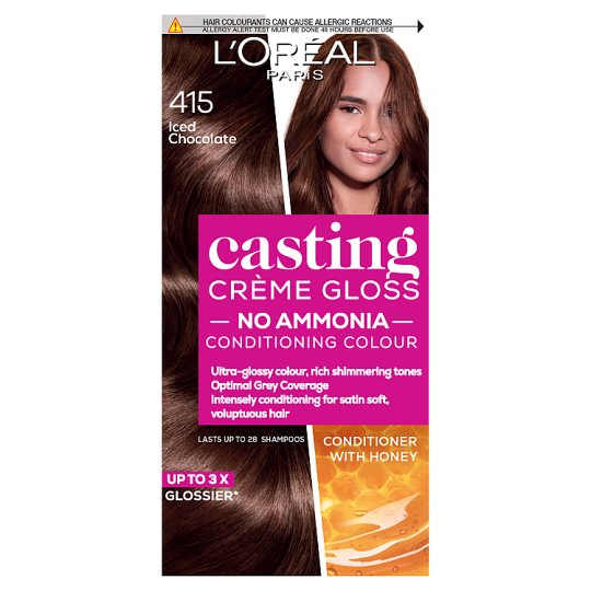 image 1 of L'oreal Casting Creme Gloss Iced Chocolate Brown Semi-Permanent Hair Dye
