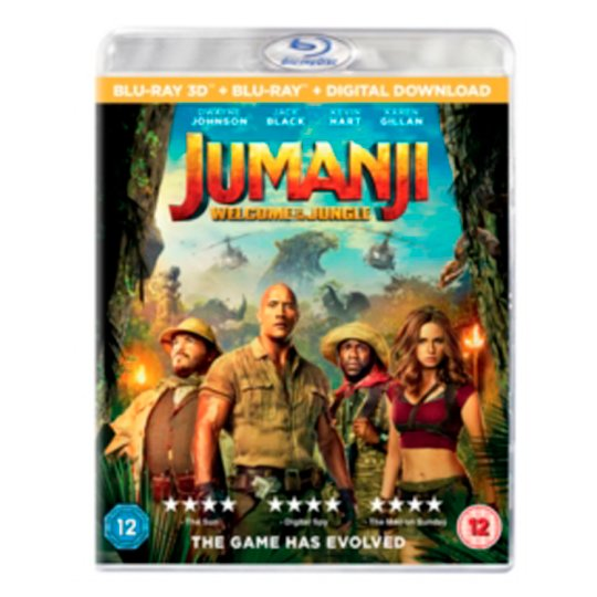 Jumanji: Welcome To The Jungle Bluray
