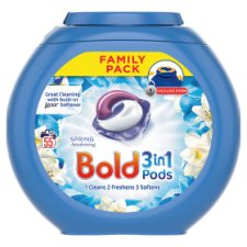 Bold 3In1 Pods Lotus Flower 55 Washes