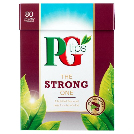 Pg Tips The Strong One 80S Pyramid Teabags 232G