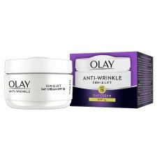 image 2 of Olay Anti Wrinkle Firm And Lift Day Moisturiser Spf 15 50Ml