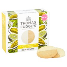 image 2 of Thomas Fudge's White Chocolate Lemon Blisscuits