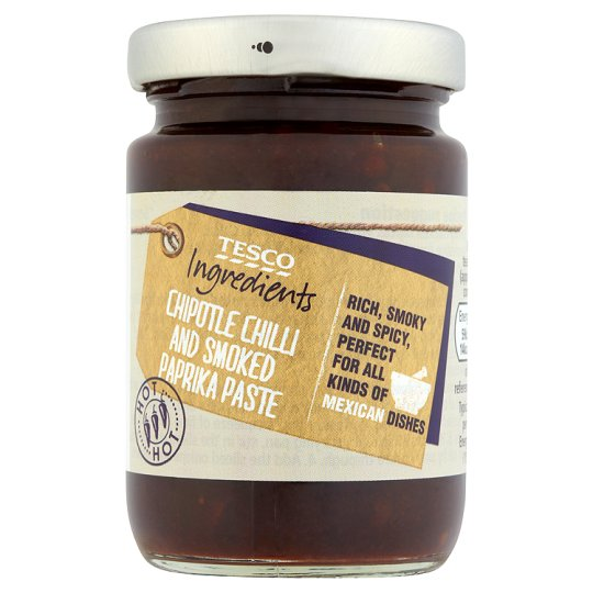 Tesco Ingredients Chilli And Paprika Paste 95G