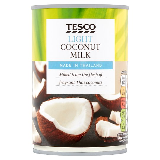 Tesco Light Coconut Milk 400Ml