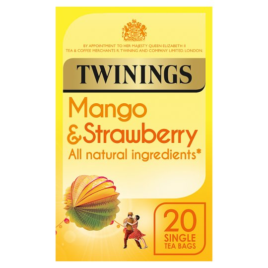 Twinings Strawberry And Mango Teabags 20S 40G