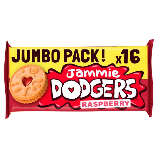 image 1 of Jammie Dodgers Twin Pack Biscuits 280G