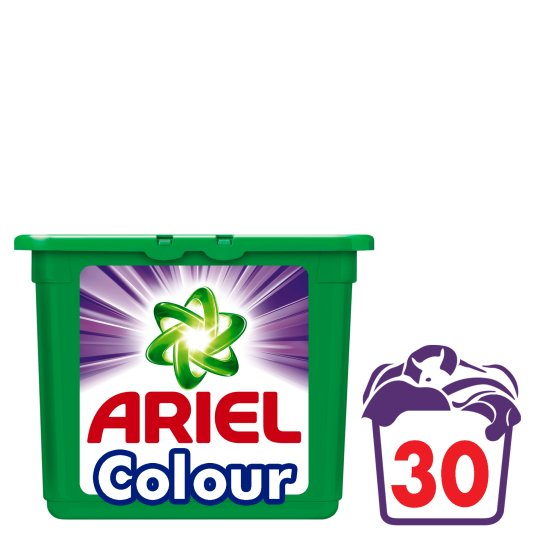 Ariel Colour 3In1 Pods Washing Capsules 30 Washes
