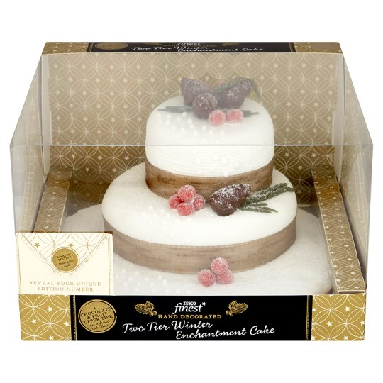 Plastic Christmas Cake Decorations Tesco