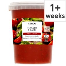 Tesco Tomato And Basil Sauce 600G