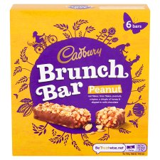 Cadbury Brunch Bar Peanut 6 X 32G