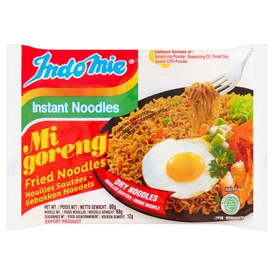 Indonesian Mie Mi Goreng Fried Instant Noodles 80G