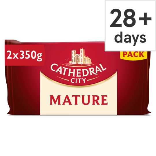 Cathedral City Mature Twin Pack 2 X 350G