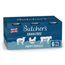 Butcher's Puppy Perfect Puppy Food Tins 6X400g