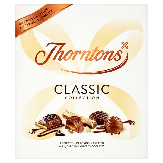 image 1 of Thorntons Chocolate Classic Milk Dark White 248G