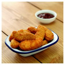 image 2 of Tesco 20 Battered Chicken Dippers 450G