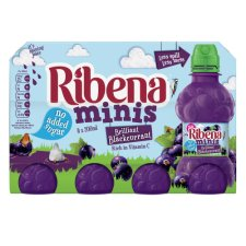 Ribena Mini Blackcurrant 8 X 200Ml