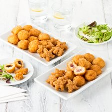 Tesco Easy Entertaining Breaded Cheese Selection 780G