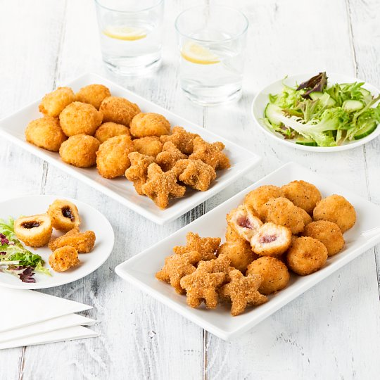 image 1 of Tesco Easy Entertaining Breaded Cheese Selection 780G