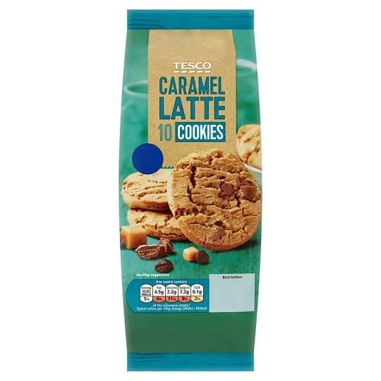 Tesco Caramel Latte Cookie 200G