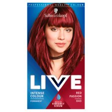Schwarzkopf Live Intensive Color 043 Red Passion Hair Dye