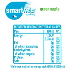 image 3 of Glaceau Smart Water Sparkling Green Apple 600Ml