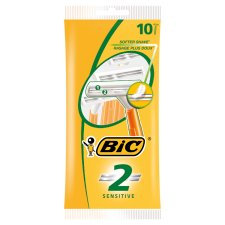 Bic 2 Sensitive Disposable Razor 10'S