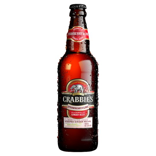 Crabbies Strawberry And Lime 500Ml