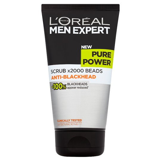 L'Oreal Men Expert Pure Power Scrub Wash 150Ml