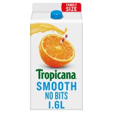 Tropicana Orange Juice Smooth 1.6 Litre