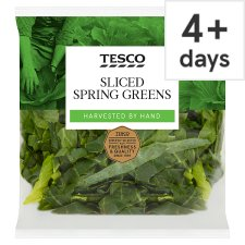 image 1 of Tesco Fresh Greens Sliced 300G