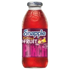 Snapple Fruit Punch Stll Juice Drink 473Ml