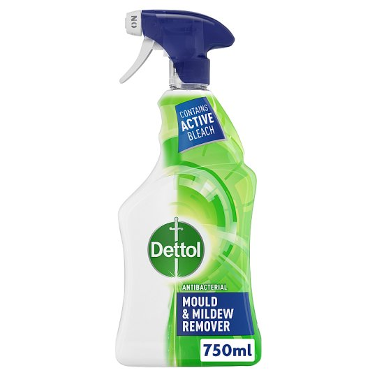Dettol Antibacterial Mould And Mildew Remover Spray 750ml Tesco Groceries
