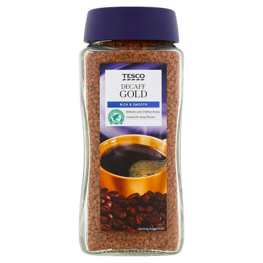 Tesco Gold Decaffeinated Instant Coffee 200G