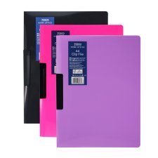 Tesco A4 Clip File Assorted