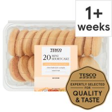 Tesco Mini Shortbread Bites 20 Pack