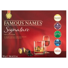Famous Names Collection Liqueur Chocolates 185G