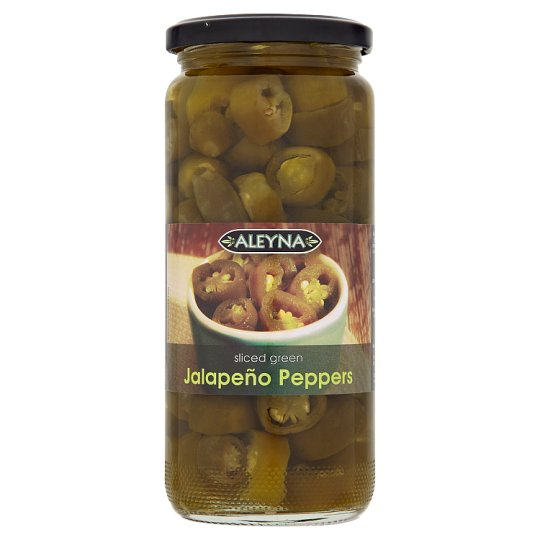 Aleyna Sliced Green Jalapeno Peppers 480G
