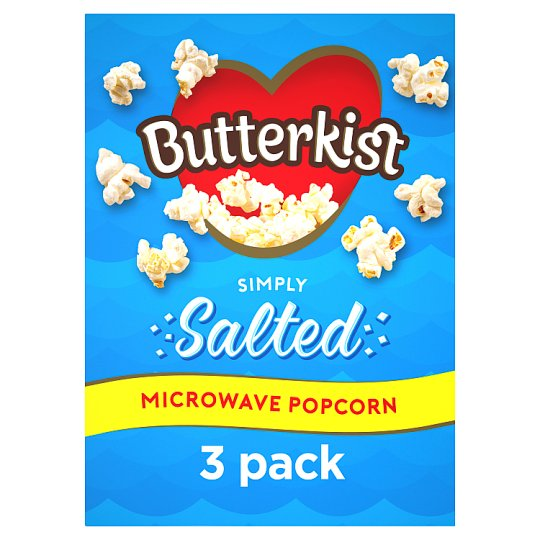 image 1 of Butterkist Microwave Salted Popcorn 3X60g