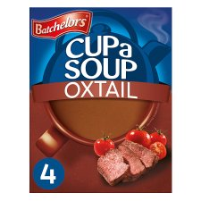 Batchelors Cup A Soup Oxtail 4 Pack 78G